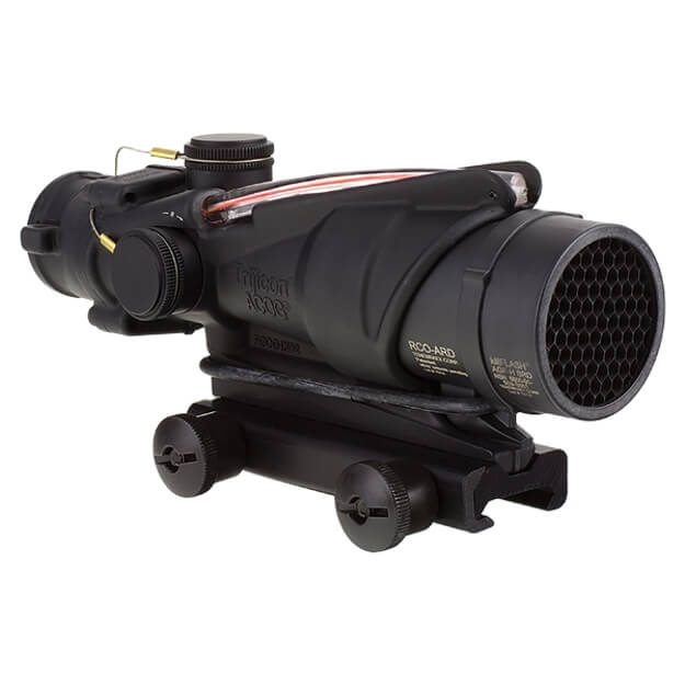 Trijicon ACOG TA31RCO-A4CP 4x32 Dual Illuminated Red Chevron USMC Rifle Combat Optic w/TA51