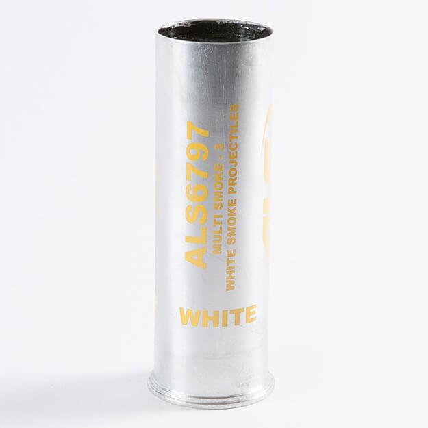 Multi-Projectile Launchable, White Smoke