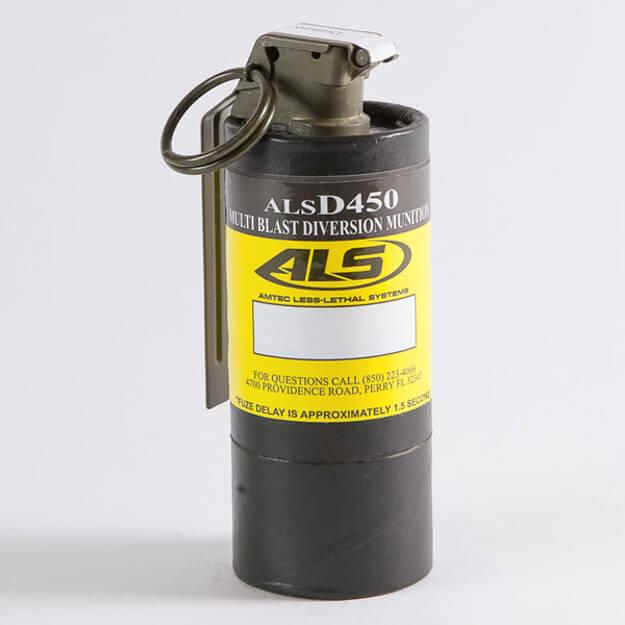 Multi-Blast Stun Grenade (7 Separate Submunitions)