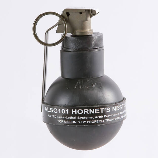 Hornets Nest Sting Grenade, .60 cal. Rubber Balls (25 Count)