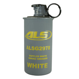 Baffled Triple Chamber Grenade, White Smoke