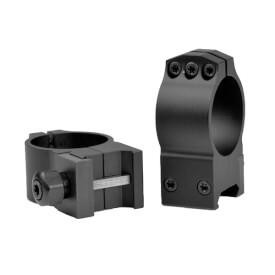 Warne 30mm Tactical Medium Matte Rings