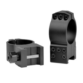 Warne 30mm Tactical High Matte Rings