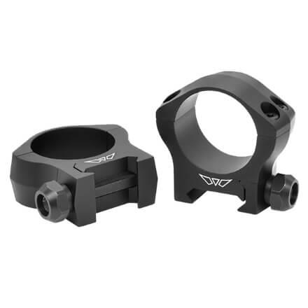 Warne 30mm Mountain Tech Low Matte Rings