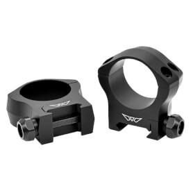 Warne 30mm Mountain Tech Medium Matte Rings