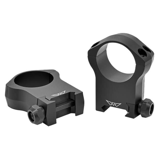 Warne 30mm Mountain Tech Ultra High Matte Rings