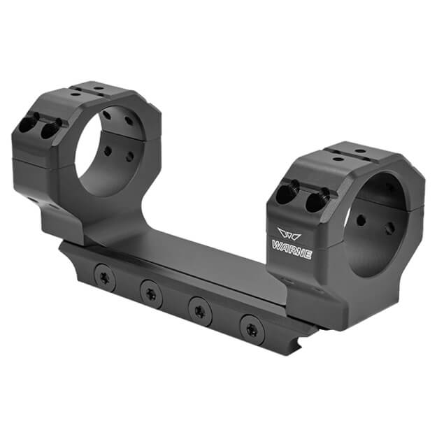Warne Precision Skyline 30mm Mount MSR Ideal Height - Black