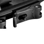 Warne 34mm QD XSKEL Mount - Black