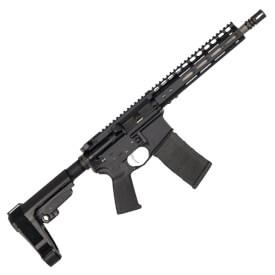 """Noveske Gen 1 10.5"""" Light Shorty Pistol w/ SBA3 Brace - Black"""