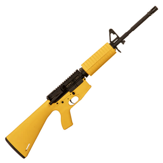 Cavalry Arms Cav-15 MKII 16 inch rifle Yellow