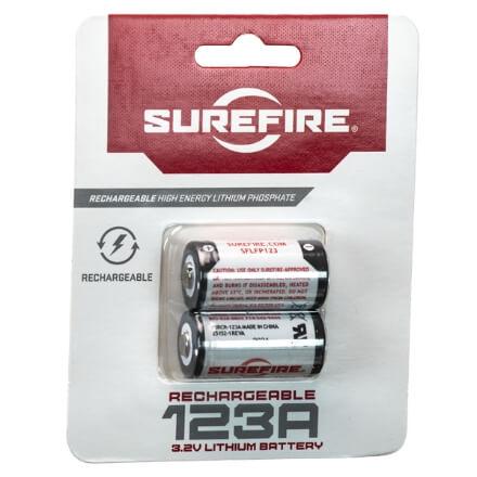 Surefire LFP LI-FE-PH Rechargeable 123A Batteries