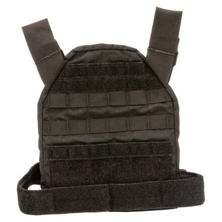 High Speed Gear SPC Bravo Molle Plate Carrier Black - 10x12""