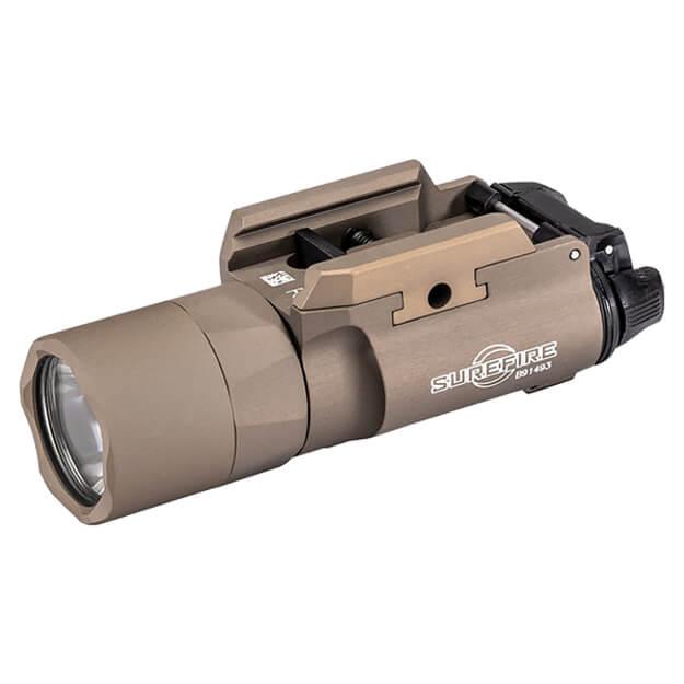 Surefire X300U-B Ultra LED Weaponlight 1,000 Lumens - T-Slot Rail - Tan