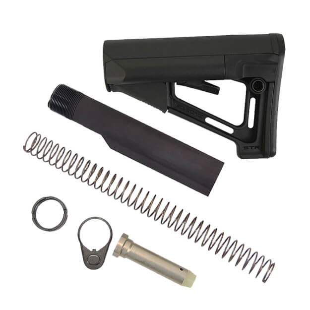 MAGPUL STR Stock Kit Milspec 7075 - Black