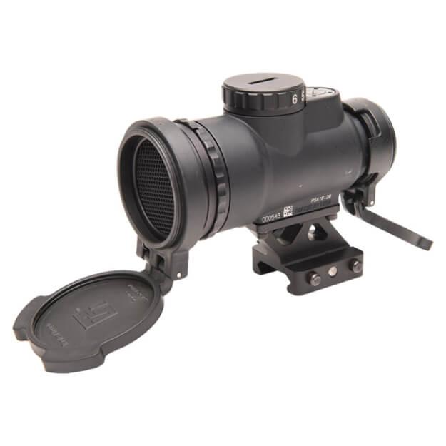 Trijicon 1x25 MRO Patrol 2 MOA Adjustable Red Dot - 1/3 Co-Witness