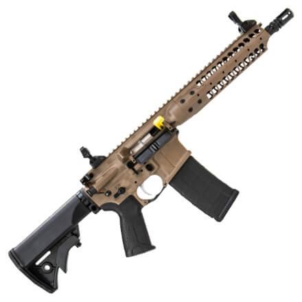 """LWRC 10.5"""" ICA5 5.56MM Rifle  Dark Earth"""