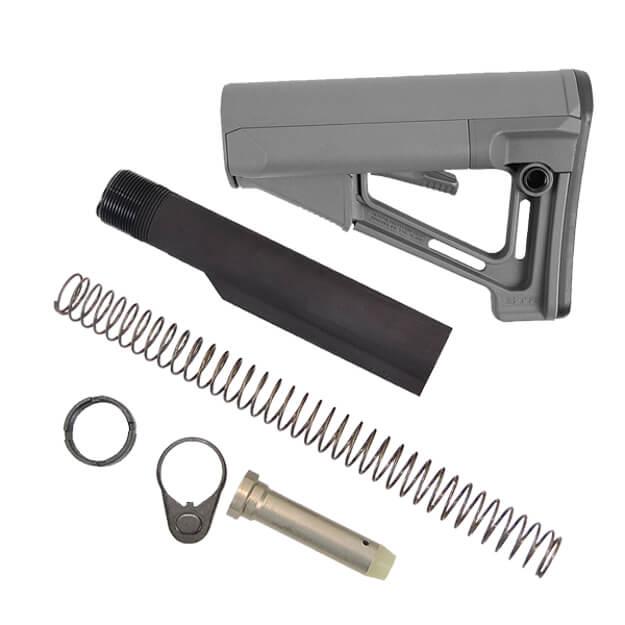 MAGPUL STR Stock Kit Milspec 7075 - Stealth Grey
