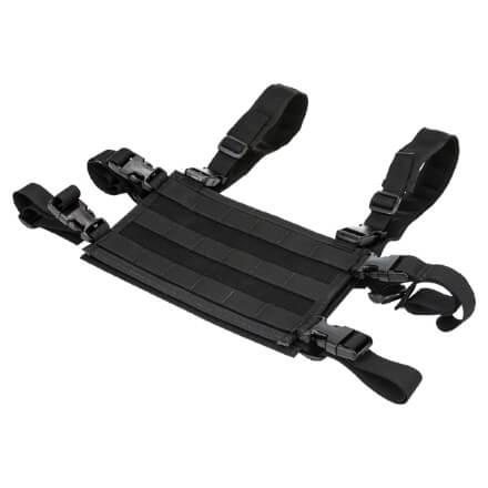 High Speed Gear Light Chest Rig Platform - Black