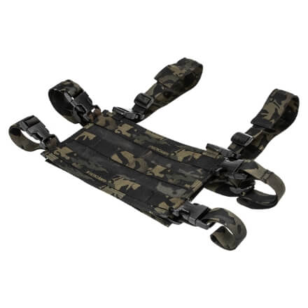 High Speed Gear Light Chest Rig Platform - Multicam Black