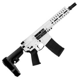 CMMG Banshee 300 MK4 Blackout Pistol - Snow White