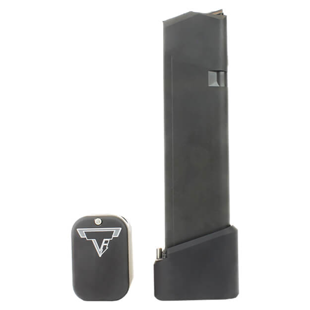 Taran Tactical Glock Firepower +5/+6 Base Pad Kit - Flat Black
