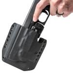Alpha Holster Glock 17/22/31/47 w/ TLR-7/8 Left Hand - Black