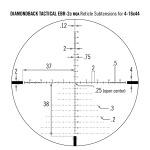 Vortex Diamondback FFP 4-16x44 EBR-2C MOA Tactical w/ Warne Vapor 30mm 1 Piece MSR Mount