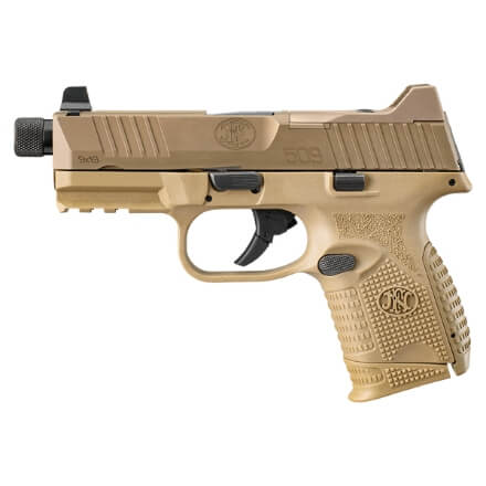 FN 509C Tactical FDE/FDE w/ 1 12rd and 24rd Magazine