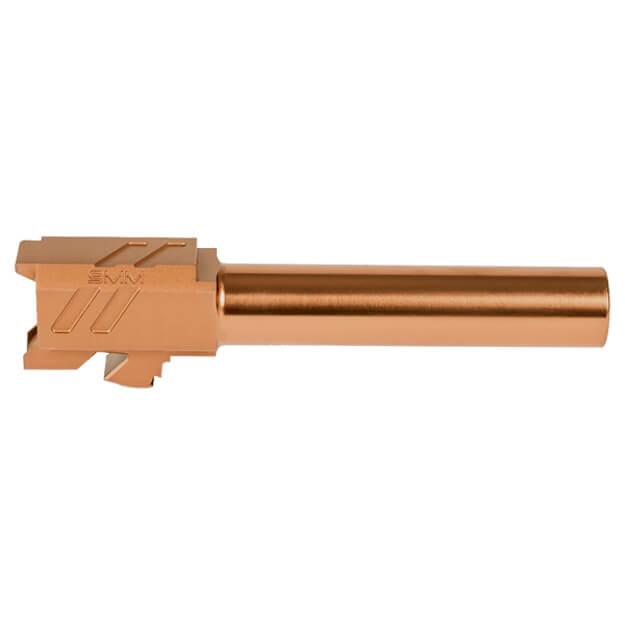ZEv PRO Match Barrel Glock 19 Gen 1-5 - Bronze