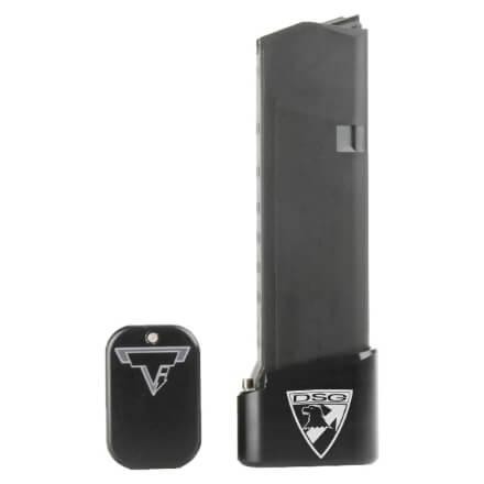 Taran Tactical Glock 19 +4/+5 Base Pad - Black