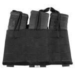 Grey Ghost Gear Compact Triple Mag Panel 5.56 - Laminate Black