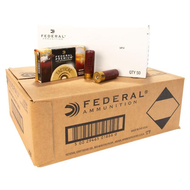 "Federal XLE13200 12 Gauge 2 3/4"" Shot Shells 9 Pellet - 5rd Box - 250 Case"