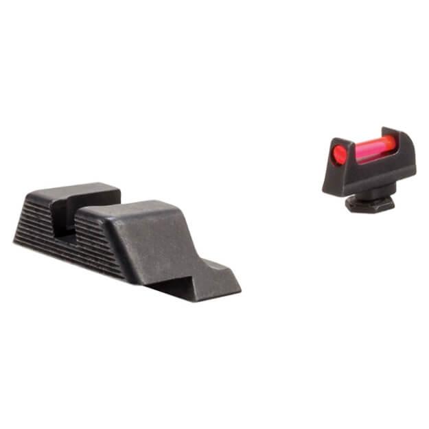 Trijicon Fiber Sight Set for GLOCK 10mm/45 ACP