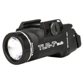 Streamlight TLR-7 Sub For Glock 43x/48 MOS/Rail w/ Mounting Kit - Black