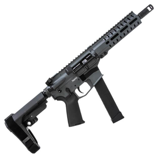 CMMG Banshee 300 MK10 10mm Pistol - Sniper Grey