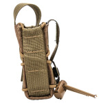 High Speed Gear Adaptable Belt Mounted Handcuff Taco - Coyote Brown