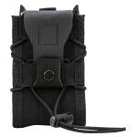 High Speed Gear Adaptable Belt Mounted Rifle Taco - Black