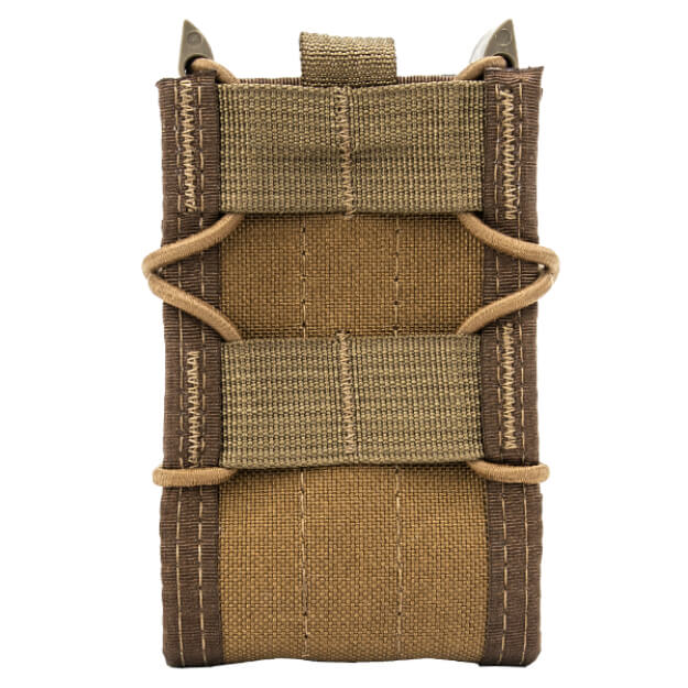 High Speed Gear Adaptable Belt Mounted Rifle Taco - Coyote Brown