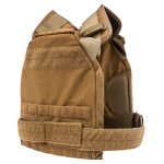 """High Speed Gear SPC Slick Plate Carrier Coyote Brown - 10x12"""""""