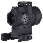 Trijicon 1x25 MRO - 2.0 MOA Adjustable Green Dot w/ Quick Release Co-witness Mount