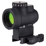 Trijicon 1x25 MRO - 2.0 MOA Adjustable Green Dot w/ Quick Release Lower 1/3 Mount
