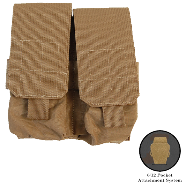 First Spear M4 Double Magazine Pocket 6/12 - Coyote