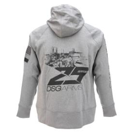 DSG 25 Years Hooded Sweatshirt - Ladies Grey