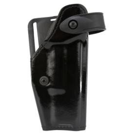 Safariland SLS Mid-Ride Level II Retention Leather Look Glock 17/22 - Right Hand