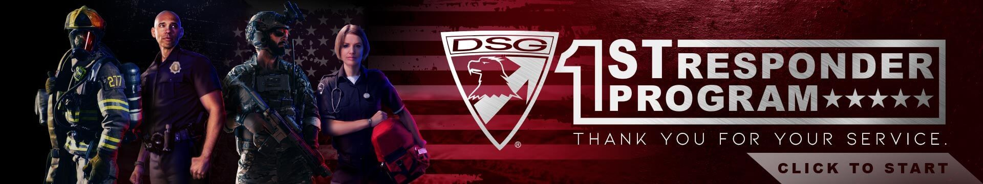 First Responders Discount Program at DSG Arms